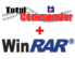 Total Commander + WinRAR